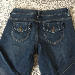 Simply Vera Vera Wang straight sz. 4 ankle jeans